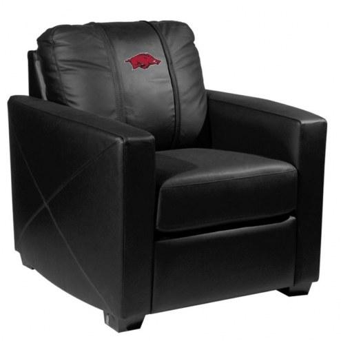 Arkansas Razorbacks XZipit Silver Club Chair