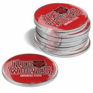 Arkansas State Red Wolves 12-Pack Golf Ball Markers