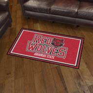 Arkansas State Red Wolves 3' x 5' Area Rug