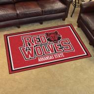 Arkansas State Red Wolves 4' x 6' Area Rug