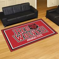 Arkansas State Red Wolves 5' x 8' Area Rug