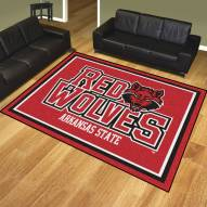 Arkansas State Red Wolves 8' x 10' Area Rug