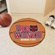 Arkansas State Red Wolves Basketball Mat