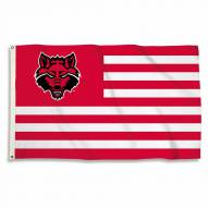 Arkansas State Red Wolves 3' x 5' Striped Flag