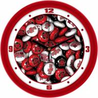 Arkansas State Red Wolves Candy Wall Clock