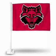 Arkansas State Red Wolves Car Flag