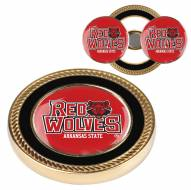 Arkansas State Red Wolves Challenge Coin with 2 Ball Markers