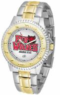 Arkansas State Red Wolves Competitor Two-Tone Men's Watch