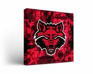 Arkansas State Red Wolves Fight Song Canvas Wall Art