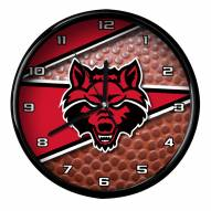 Arkansas State Red Wolves Football Clock