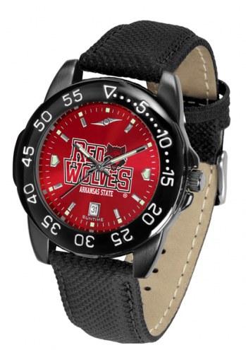 Arkansas State Red Wolves Men's Fantom Bandit AnoChrome Watch
