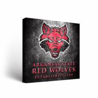 Arkansas State Red Wolves Museum Canvas Wall Art