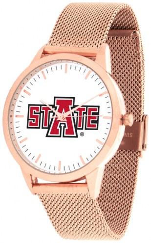 Arkansas State Red Wolves Rose Mesh Statement Watch