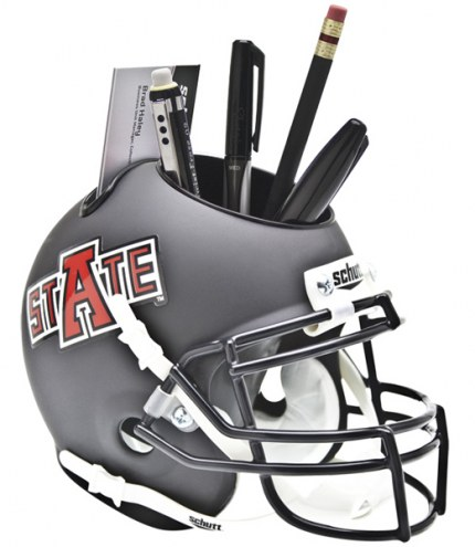 Arkansas State Red Wolves Schutt Football Helmet Desk Caddy