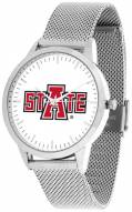 Arkansas State Red Wolves Silver Mesh Statement Watch
