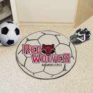 Arkansas State Red Wolves Soccer Ball Mat