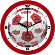 Arkansas State Red Wolves Soccer Wall Clock