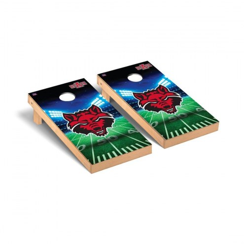 Arkansas State Red Wolves Stadium Cornhole Game Set