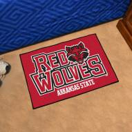 Arkansas State Red Wolves Starter Rug