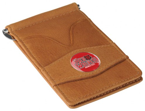 Arkansas State Red Wolves Tan Player's Wallet