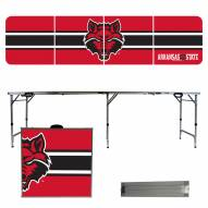 Arkansas State Red Wolves Victory Folding Tailgate Table
