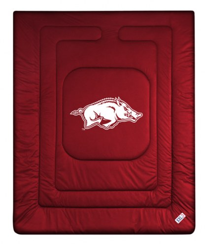 Arkansas Razorbacks NCAA Twin Jersey Comforter