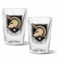 Army Black Knights 2 oz. Prism Shot Glass Set
