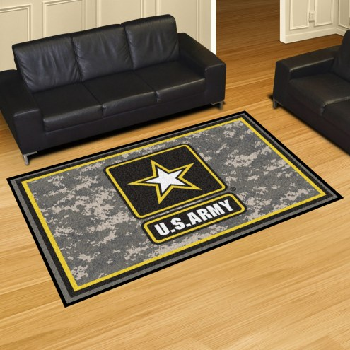Army Black Knights 5' x 8' Area Rug