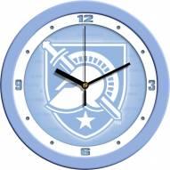 Army Black Knights Baby Blue Wall Clock