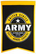 Army Black Knights Badge Banner