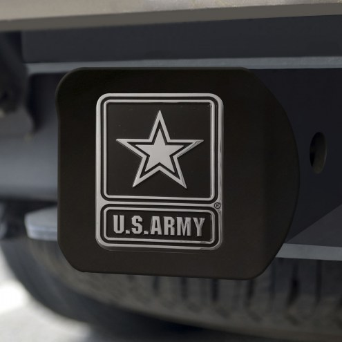 Army Black Knights Black Matte Hitch Cover