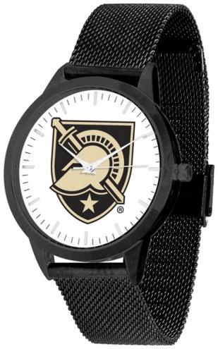 Army Black Knights Black Mesh Statement Watch