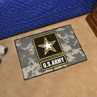 Army Black Knights Camo Starter Rug
