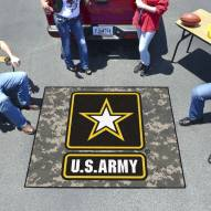 Army Black Knights Camo Tailgate Mat