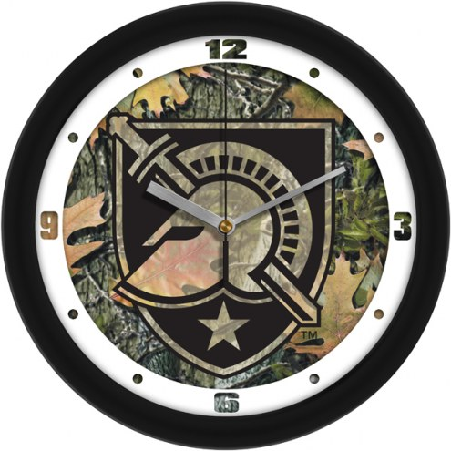 Army Black Knights Camo Wall Clock