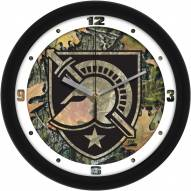 Army Black Knights Camo Wall Clock