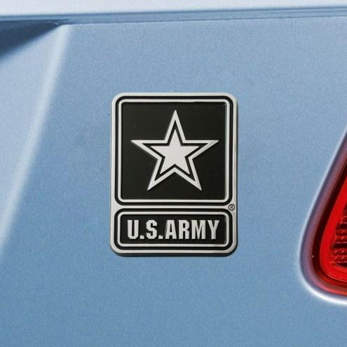 Army Black Knights Chrome Metal Car Emblem
