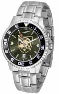 Army Black Knights Competitor Steel AnoChrome Color Bezel Men's Watch