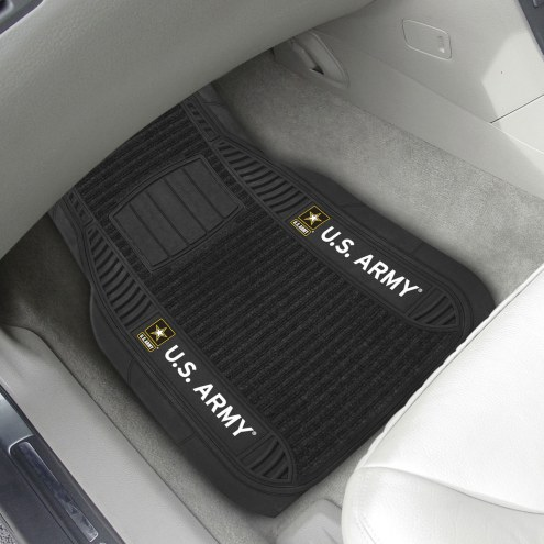 Army Black Knights Deluxe Car Floor Mat Set