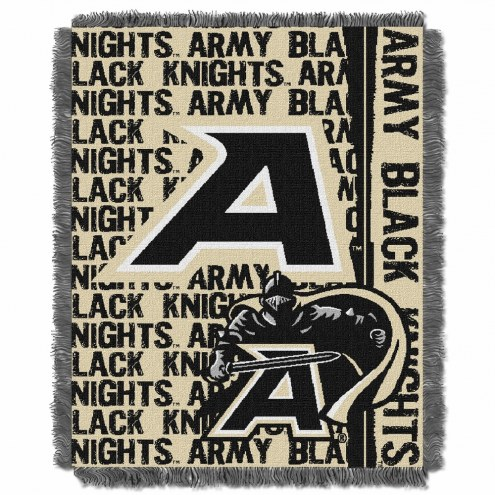 Army Black Knights Double Play Woven Throw Blanket