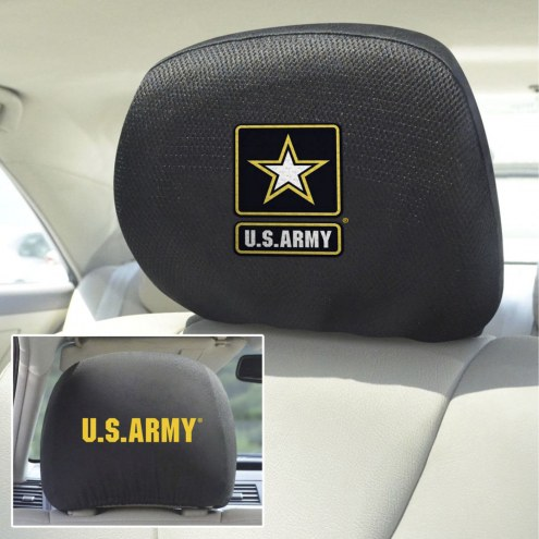 Army Black Knights Headrest Covers