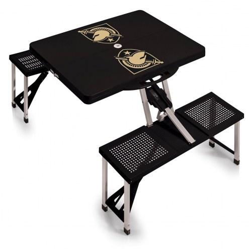 Army Black Knights Folding Picnic Table