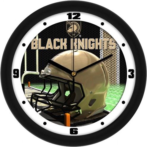Army Black Knights Football Helmet Wall Clock