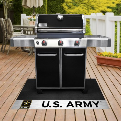 Army Black Knights Grill Mat