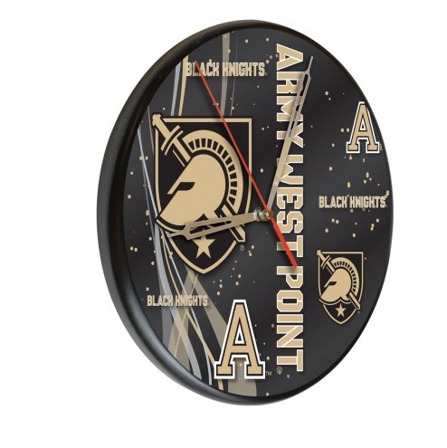 Army Black Knights Digitally Printed Wood Clock