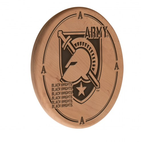 Army Black Knights Laser Engraved Wood Sign
