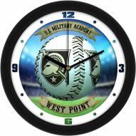 Army Black Knights Home Run Wall Clock