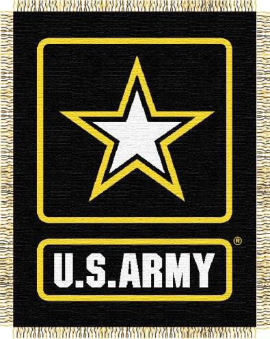 Army Black Knights NCAA Double Play Woven Throw Blanket