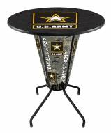 Army Black Knights Indoor/Outdoor Lighted Pub Table