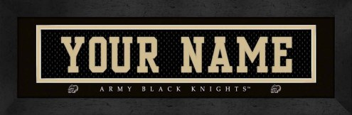 Army Black Knights Personalized Stitched Jersey Print